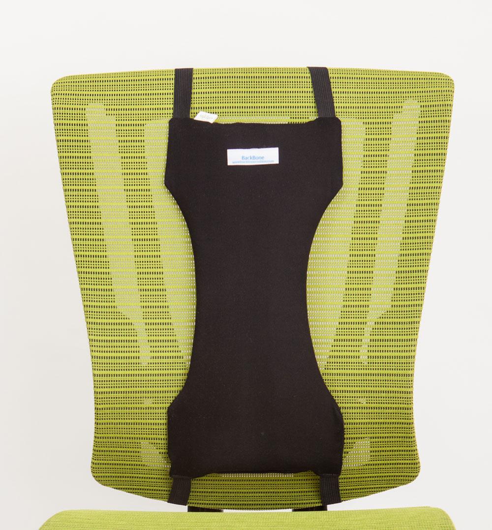 Office Cushion BACKBONE : BackboneBlackCushion023 2 Office Chair <strong>with Headrest</strong> from backbonecushion.com size 2163 x 2330 jpeg 2373kB